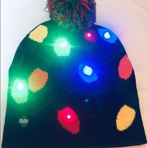 Christmas flashing hat